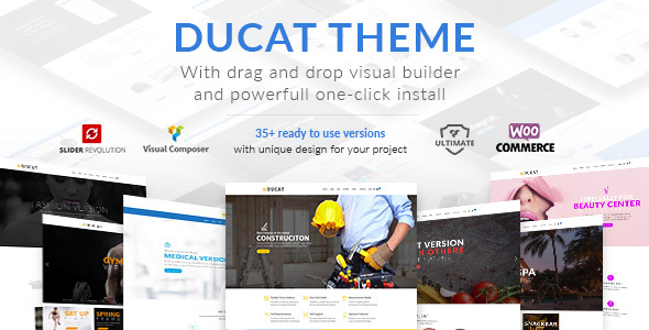 Ducat Preview Wordpress Theme - Rating, Reviews, Preview, Demo & Download