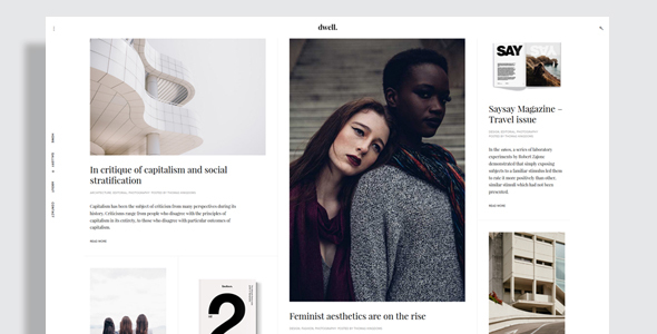 Dwell Preview Wordpress Theme - Rating, Reviews, Preview, Demo & Download