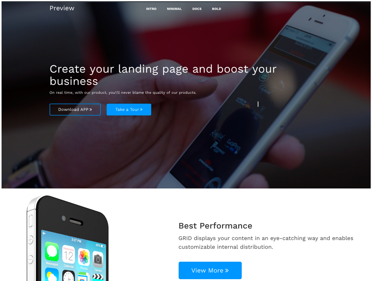 EBoost Preview Wordpress Theme - Rating, Reviews, Preview, Demo & Download