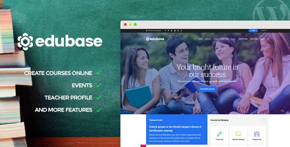Edubase Course Preview Wordpress Theme - Rating, Reviews, Preview, Demo & Download