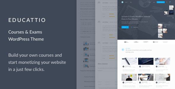 Educattio Preview Wordpress Theme - Rating, Reviews, Preview, Demo & Download