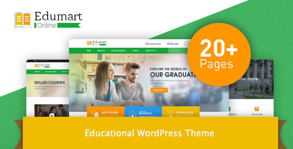 Edumart Preview Wordpress Theme - Rating, Reviews, Preview, Demo & Download