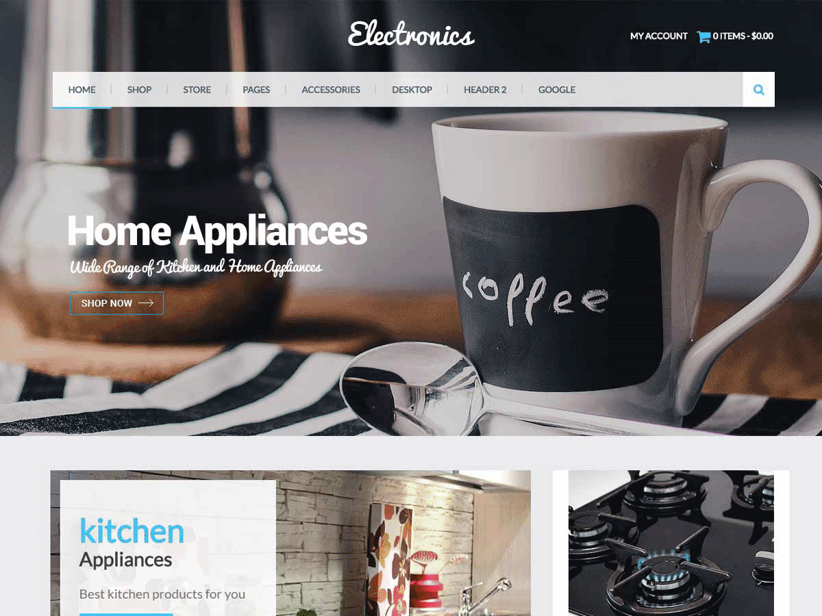 Eezy Store Preview Wordpress Theme - Rating, Reviews, Preview, Demo & Download