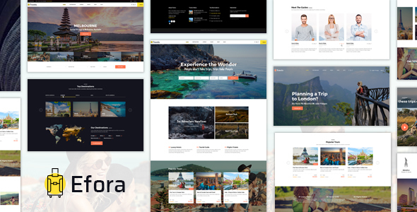 Efora Preview Wordpress Theme - Rating, Reviews, Preview, Demo & Download
