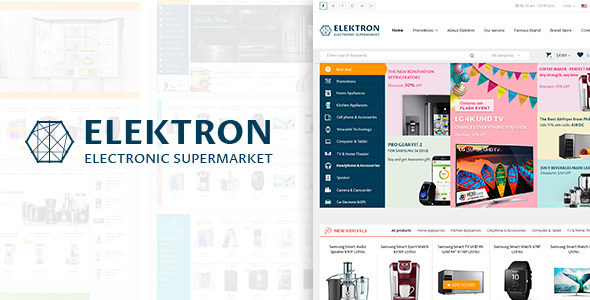 Elektron Preview Wordpress Theme - Rating, Reviews, Preview, Demo & Download