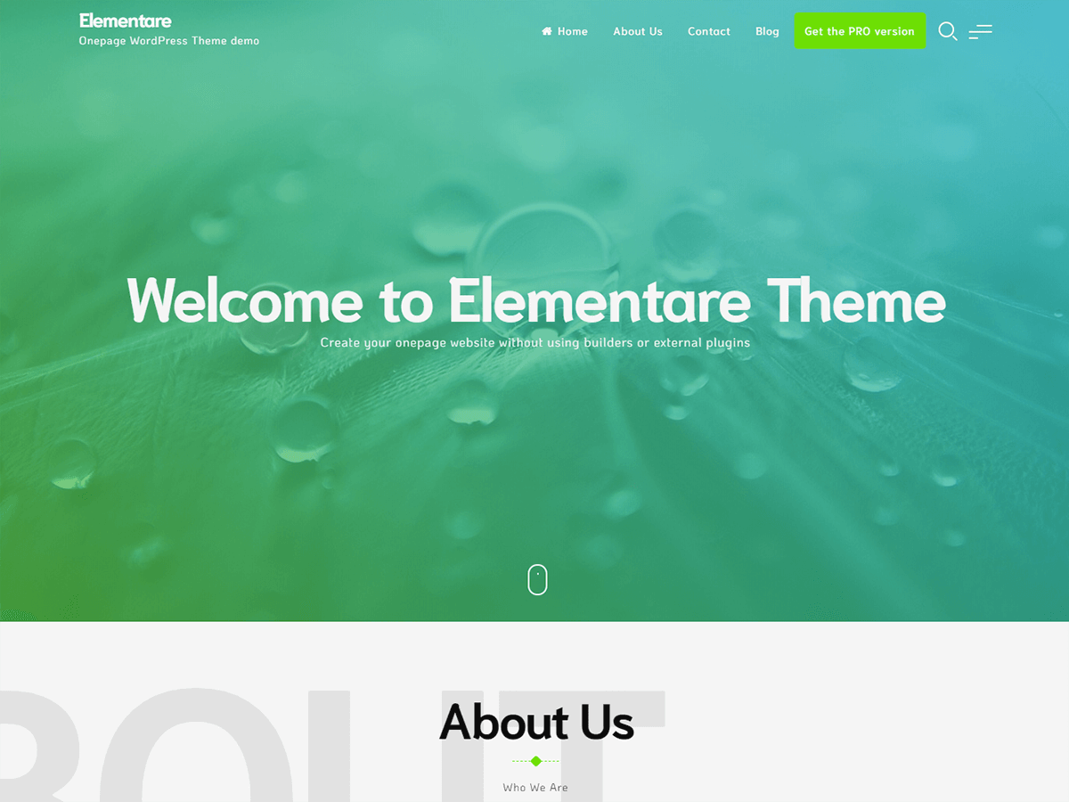 Elementare Preview Wordpress Theme - Rating, Reviews, Preview, Demo & Download