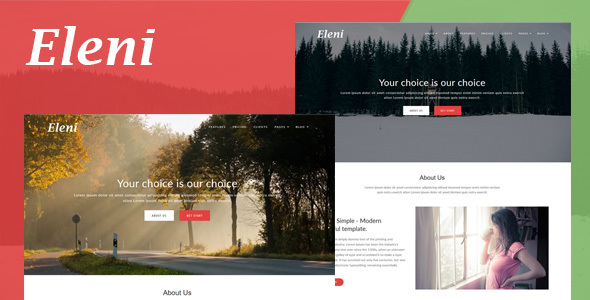 Eleni Preview Wordpress Theme - Rating, Reviews, Preview, Demo & Download