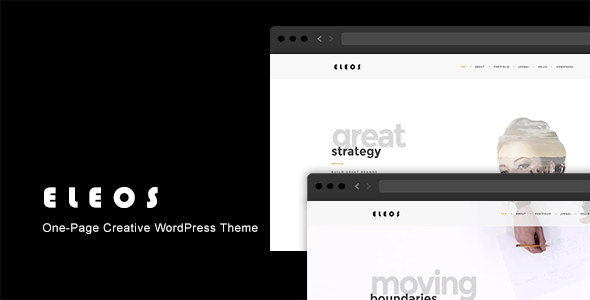 Eleos Preview Wordpress Theme - Rating, Reviews, Preview, Demo & Download