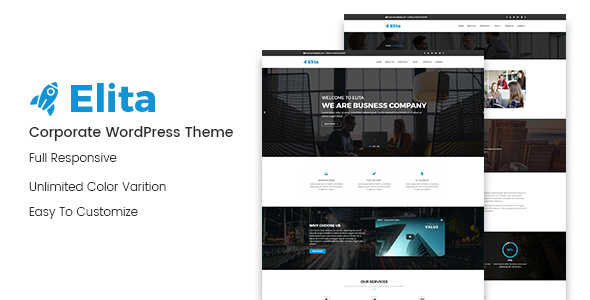 Elita Preview Wordpress Theme - Rating, Reviews, Preview, Demo & Download