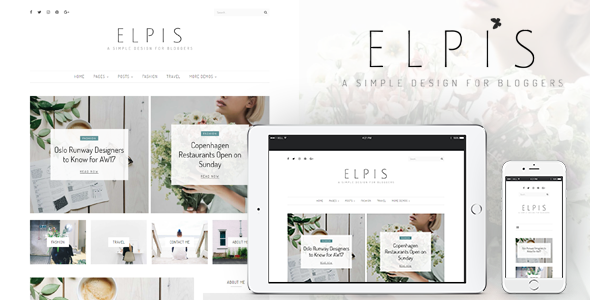Elpis Preview Wordpress Theme - Rating, Reviews, Preview, Demo & Download