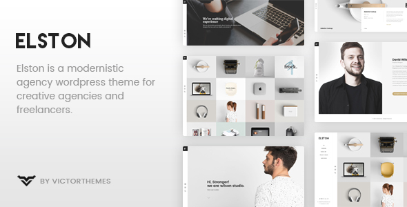 Elston Preview Wordpress Theme - Rating, Reviews, Preview, Demo & Download