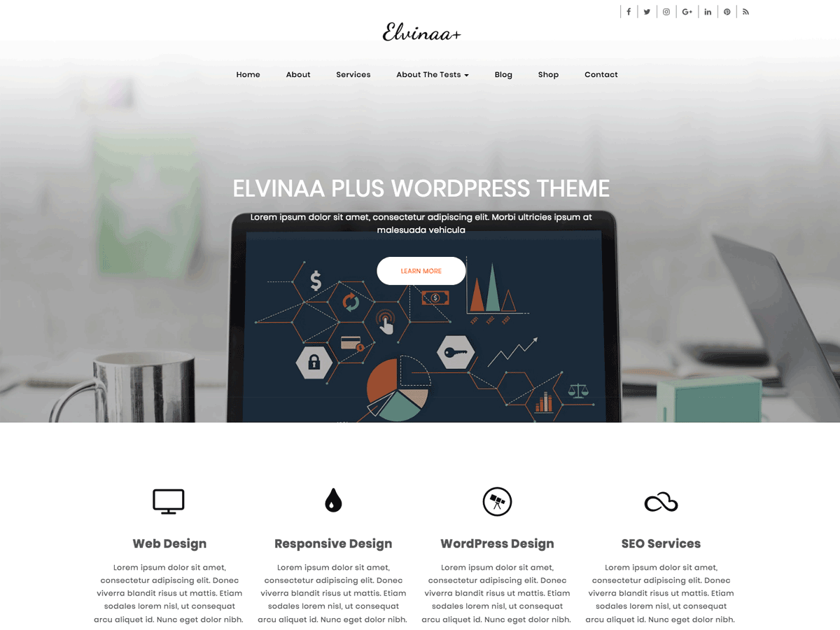 Elvinaa Plus Preview Wordpress Theme - Rating, Reviews, Preview, Demo & Download