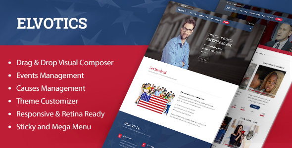 Elvotics Preview Wordpress Theme - Rating, Reviews, Preview, Demo & Download