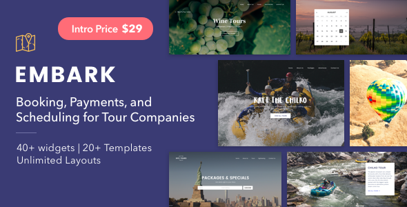 Embark Preview Wordpress Theme - Rating, Reviews, Preview, Demo & Download