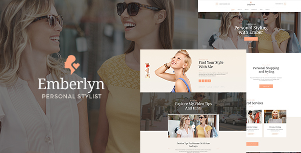 Emberlyn Preview Wordpress Theme - Rating, Reviews, Preview, Demo & Download
