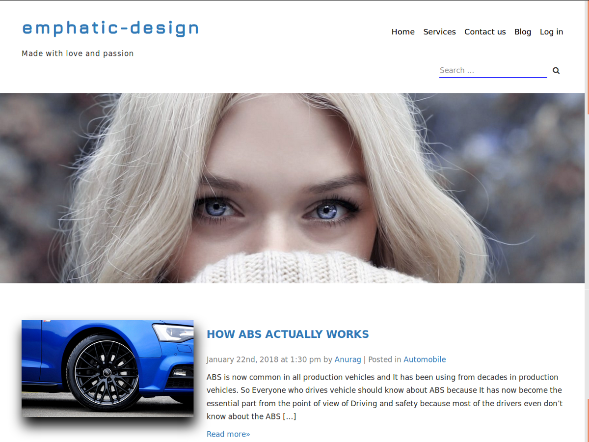 Emphatic Preview Wordpress Theme - Rating, Reviews, Preview, Demo & Download