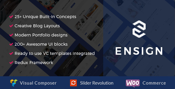 Ensign Preview Wordpress Theme - Rating, Reviews, Preview, Demo & Download