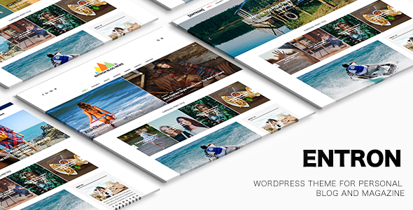 Entron Preview Wordpress Theme - Rating, Reviews, Preview, Demo & Download