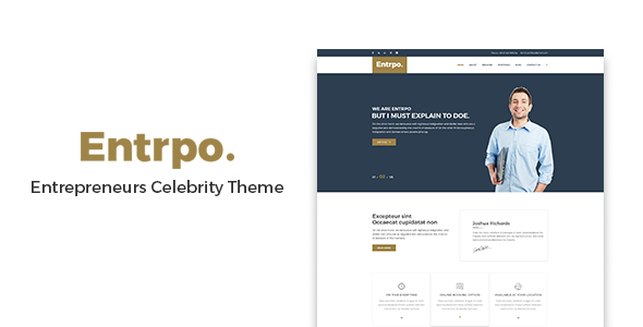 Entrpo Preview Wordpress Theme - Rating, Reviews, Preview, Demo & Download