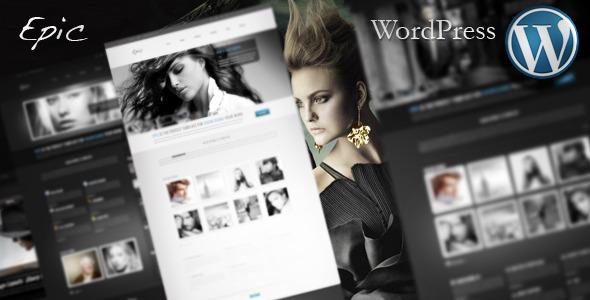 Epic WordPress Preview Wordpress Theme - Rating, Reviews, Preview, Demo & Download