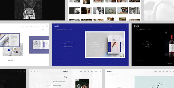 Erwitt Preview Wordpress Theme - Rating, Reviews, Preview, Demo & Download