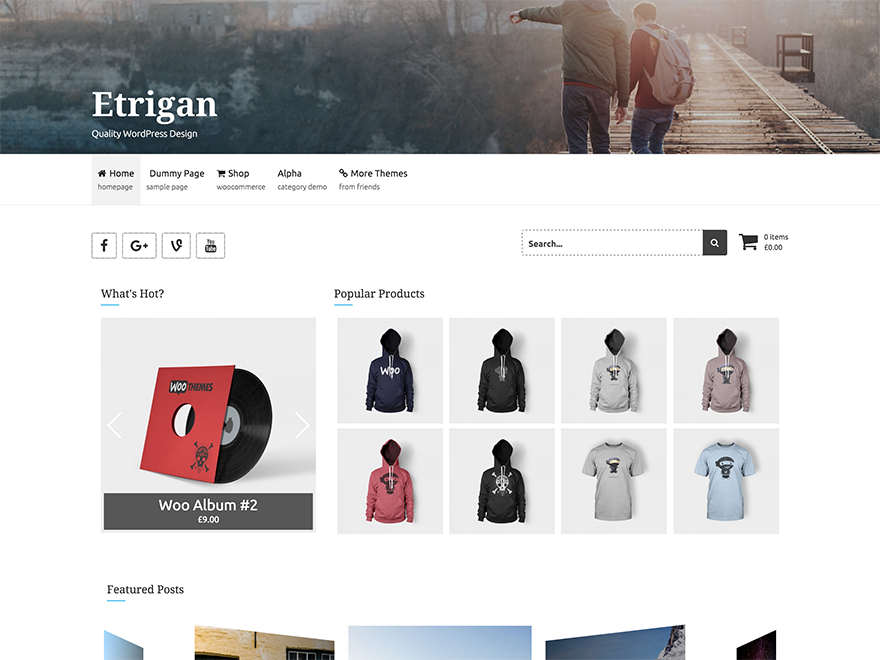 Etrigan Preview Wordpress Theme - Rating, Reviews, Preview, Demo & Download