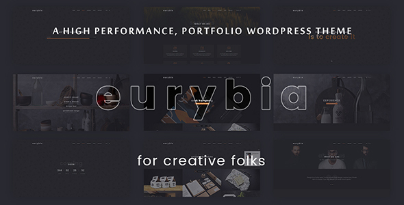 Eurybia Preview Wordpress Theme - Rating, Reviews, Preview, Demo & Download