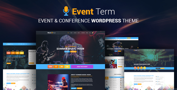 Event Term Preview Wordpress Theme - Rating, Reviews, Preview, Demo & Download