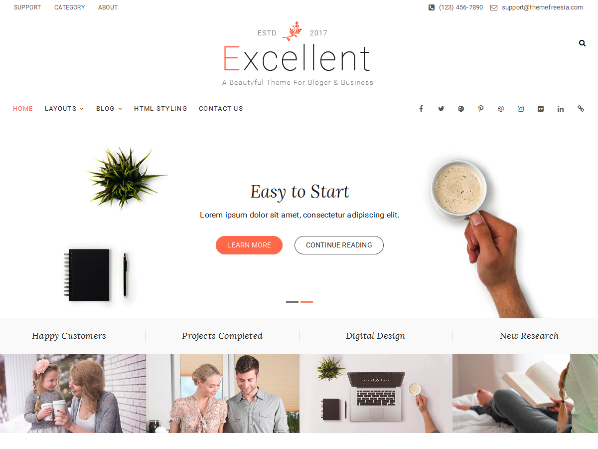Excellent Preview Wordpress Theme - Rating, Reviews, Preview, Demo & Download