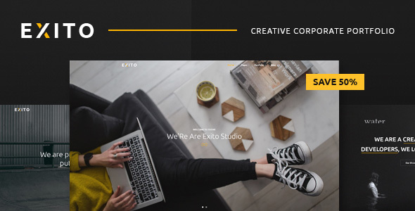 Exito Preview Wordpress Theme - Rating, Reviews, Preview, Demo & Download
