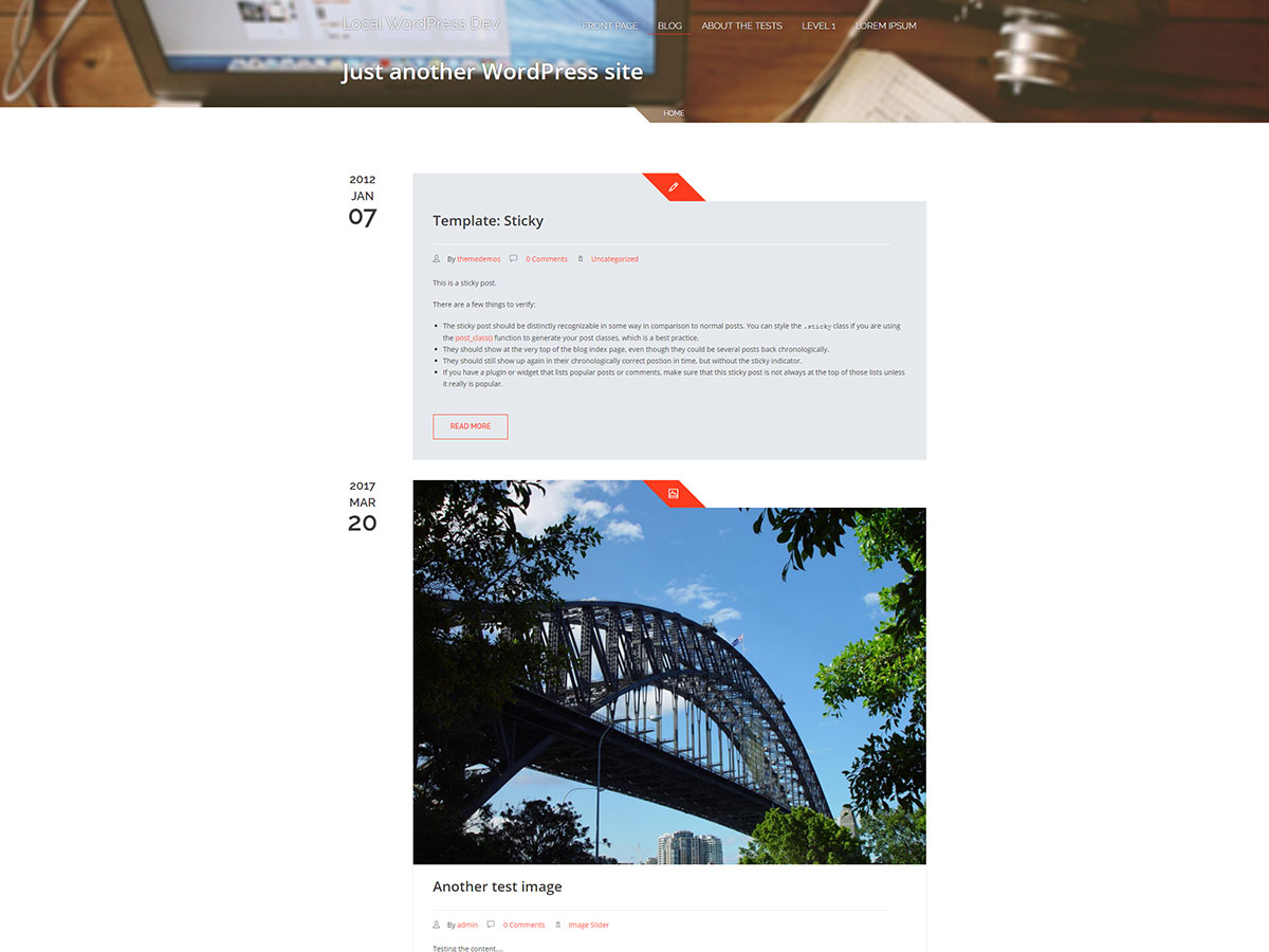 Expire Preview Wordpress Theme - Rating, Reviews, Preview, Demo & Download