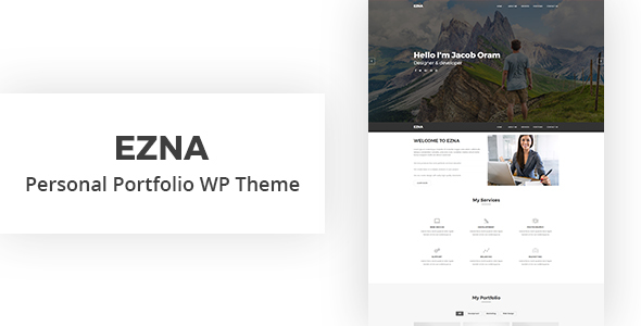 Ezna Preview Wordpress Theme - Rating, Reviews, Preview, Demo & Download