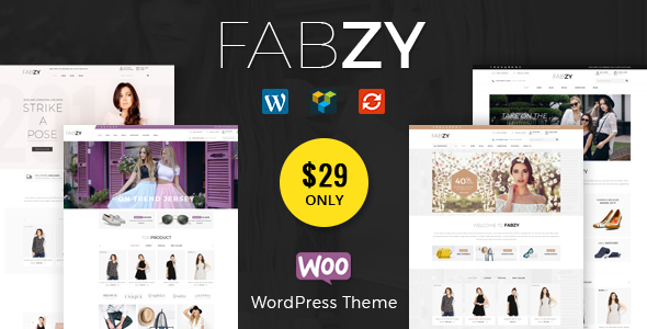 Fabzy Preview Wordpress Theme - Rating, Reviews, Preview, Demo & Download
