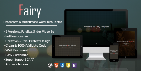 Fairy Preview Wordpress Theme - Rating, Reviews, Preview, Demo & Download