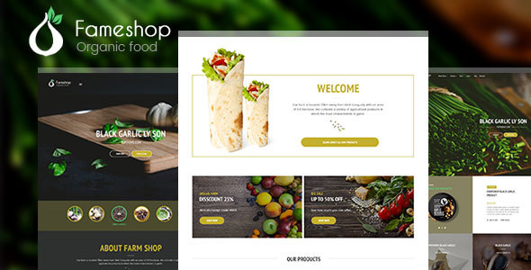 Fameshop Preview Wordpress Theme - Rating, Reviews, Preview, Demo & Download