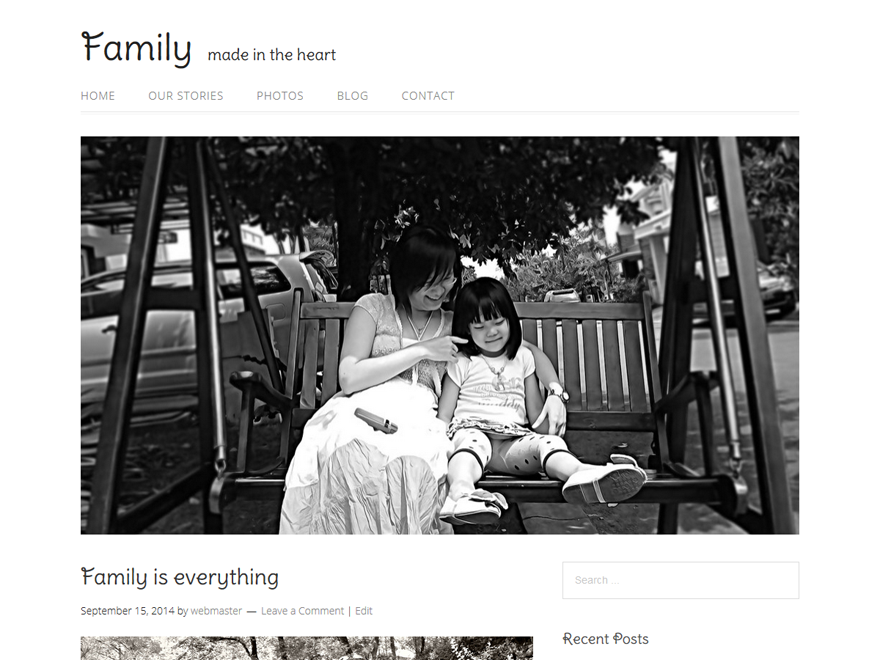 Family Preview Wordpress Theme - Rating, Reviews, Preview, Demo & Download