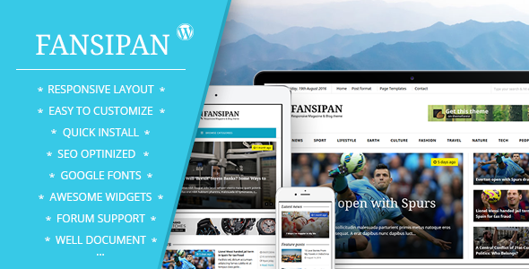 Fansipan Magazine Preview Wordpress Theme - Rating, Reviews, Preview, Demo & Download