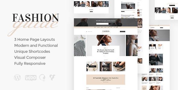 Fashion Guide Preview Wordpress Theme - Rating, Reviews, Preview, Demo & Download