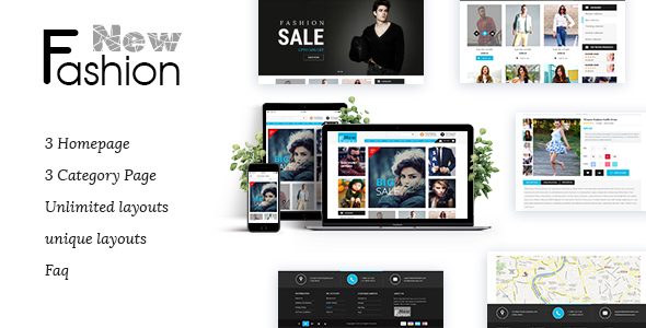 Fashion Multipurpose Preview Wordpress Theme - Rating, Reviews, Preview, Demo & Download