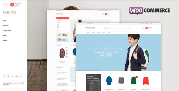 Fashion Store Preview Wordpress Theme - Rating, Reviews, Preview, Demo & Download