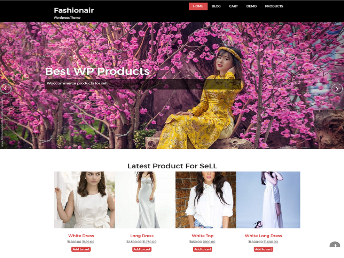Fashionair Preview Wordpress Theme - Rating, Reviews, Preview, Demo & Download