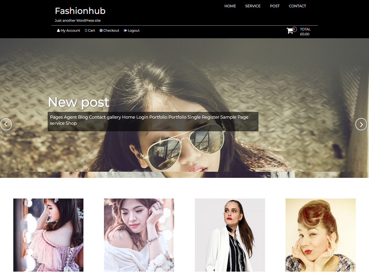 Fashionhub Preview Wordpress Theme - Rating, Reviews, Preview, Demo & Download