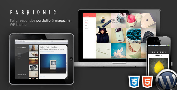 Fashionic Preview Wordpress Theme - Rating, Reviews, Preview, Demo & Download