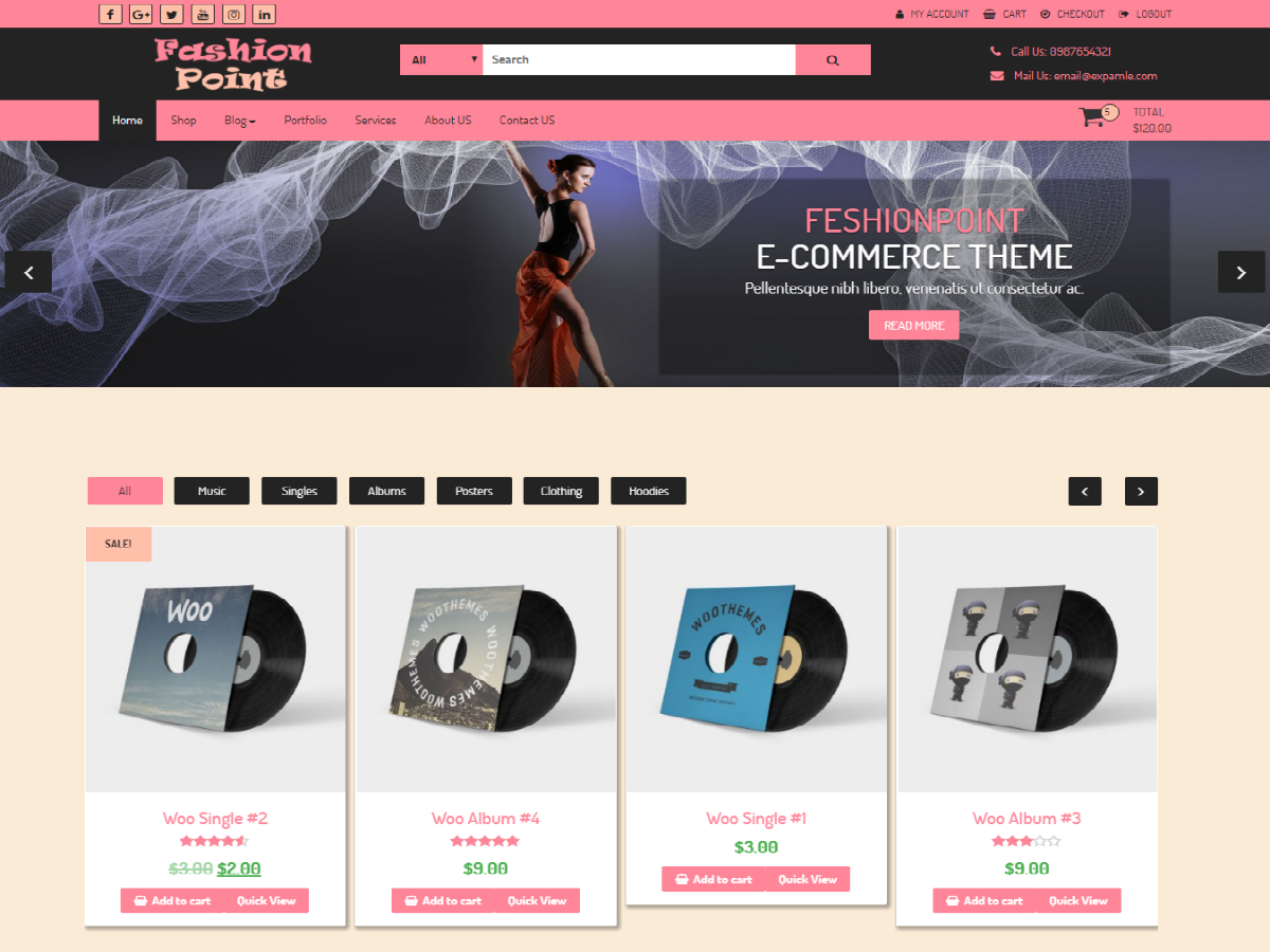 FashionPoint Preview Wordpress Theme - Rating, Reviews, Preview, Demo & Download