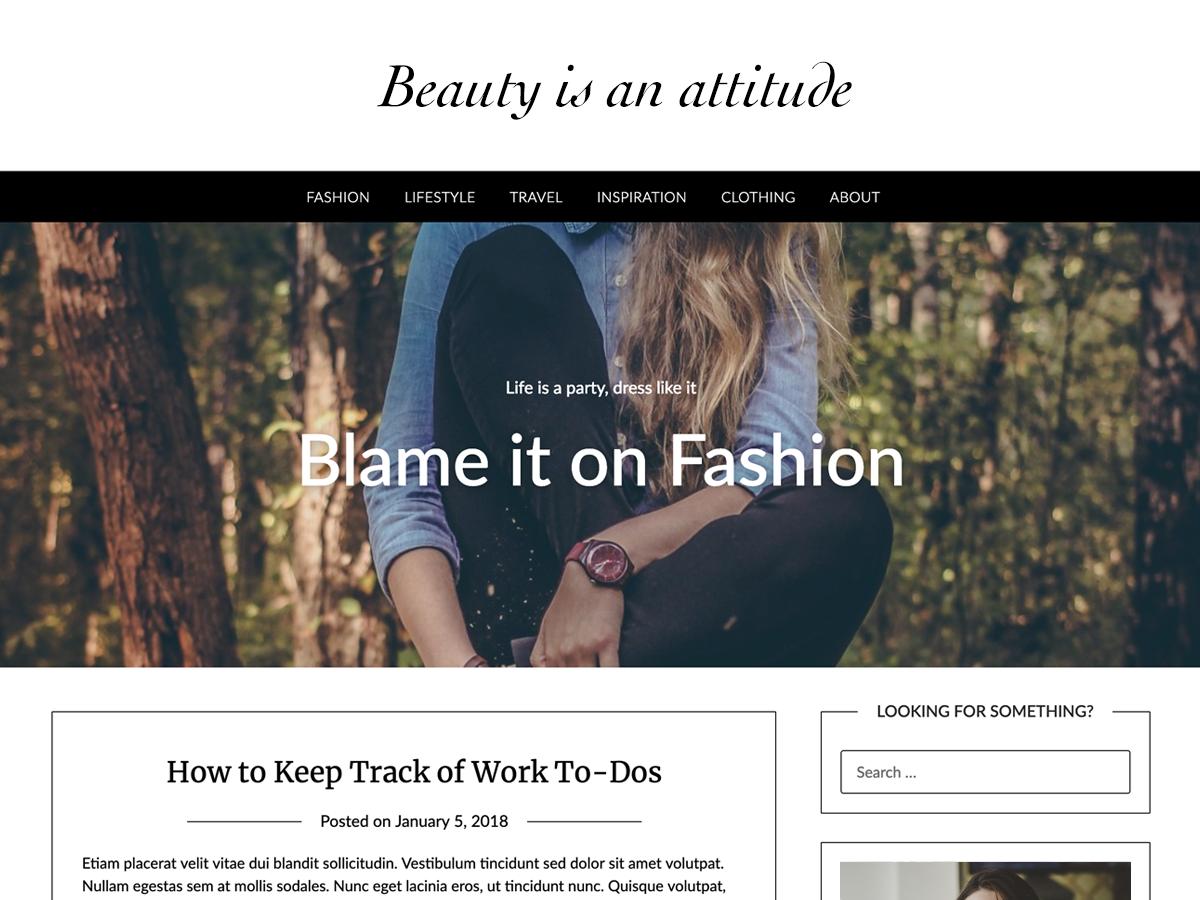 Fashionpressly Preview Wordpress Theme - Rating, Reviews, Preview, Demo & Download