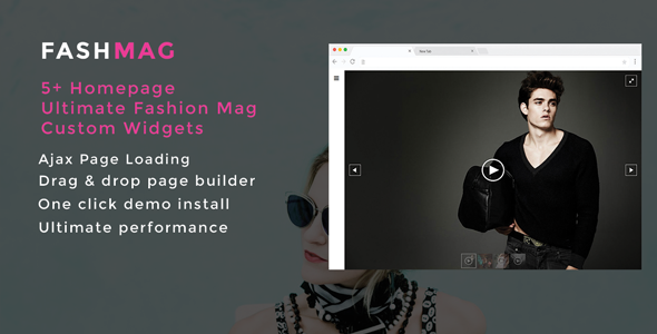 Fashmag Preview Wordpress Theme - Rating, Reviews, Preview, Demo & Download