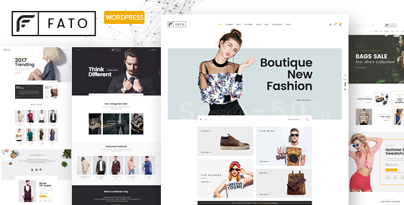 Fato Preview Wordpress Theme - Rating, Reviews, Preview, Demo & Download