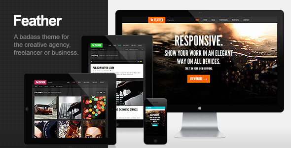 Feather Preview Wordpress Theme - Rating, Reviews, Preview, Demo & Download