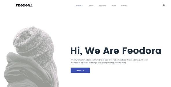 Feodora Creative Preview Wordpress Theme - Rating, Reviews, Preview, Demo & Download