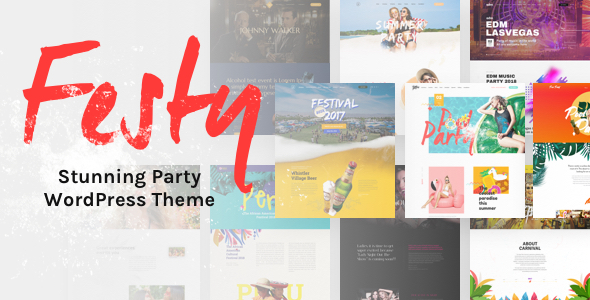 Festy Event Preview Wordpress Theme - Rating, Reviews, Preview, Demo & Download